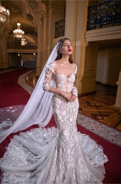 Rochie de mireasă sirenă